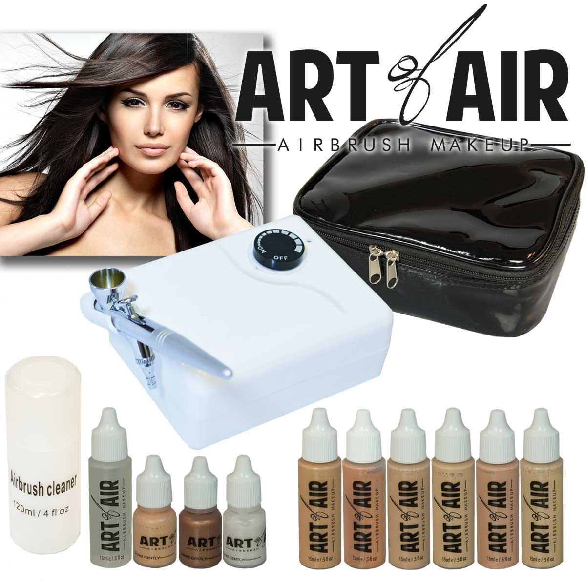 Art Of Air Professional Airbrush Cosmetic Makeup Kit