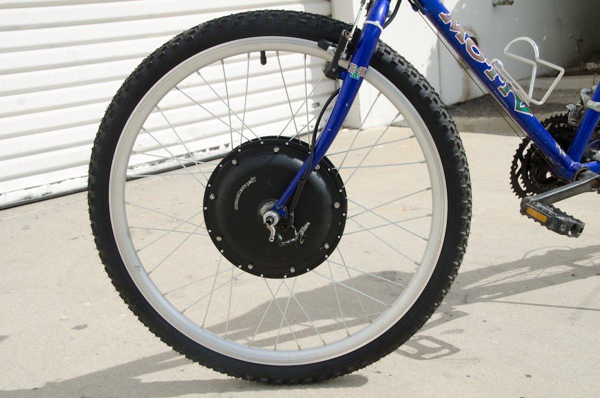 Ebike 36v 500w 26in Front Wheel Electric Bike Bicycle